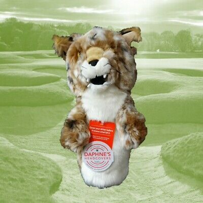 Bobcat by Daphne's Large Novelty Golf Club Driver 1 Wood Headcover 460cc Head