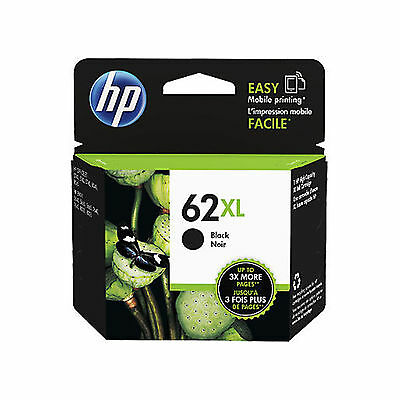 New Original HP 62XL (C2P05AE) Genuine High Capacity Black Ink Cartridge