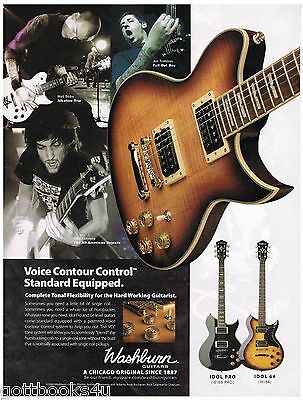 Washburn Guitars - Alkaline Trio/Fall Out Boy /The All-American Rejects -2006 Ad