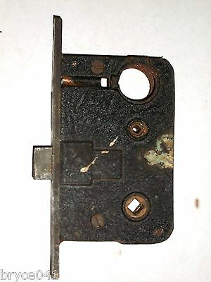 Antique Mortise Lock With Thumb Turn