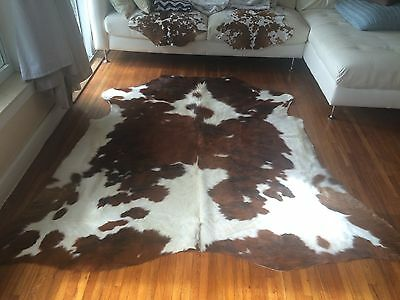Amazing High quality rodeo cowhides rugs tricolor large size 5X7