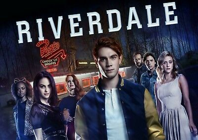 Riverdale Tv Series Glossy Wall Art Poster (A1 - A5 Sizes Available)