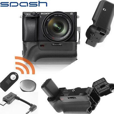 Vertical Battery Grip For  Sony A6000 Mirrorless Digital Camera with IR function