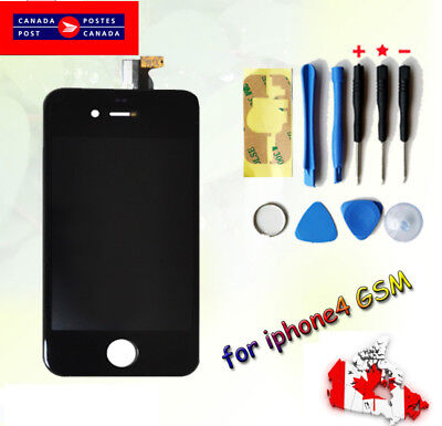 For Apple iPhone 4 black   Replacement LCD Display & Digitizer Touch Screen