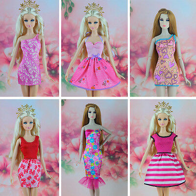 16 Pcs / lot New Fashion Dress Orignal Casual Clothes for Barbie FR Doll