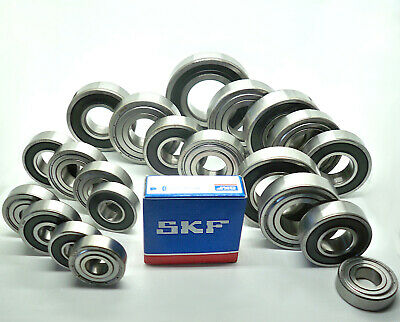 Kugellager SKF 6000 - 6006 u. 6200 - 6207, 10 - 35 mm Welle Dichtung  2RS od. ZZ