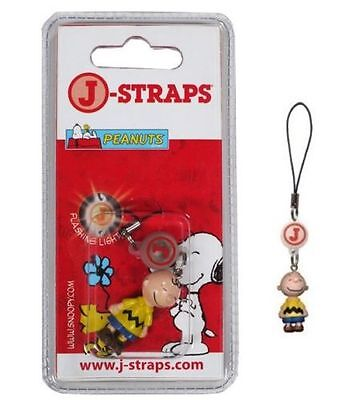 Brand New Snoopy Charlie Brown Mobile Phone Charm Keyring