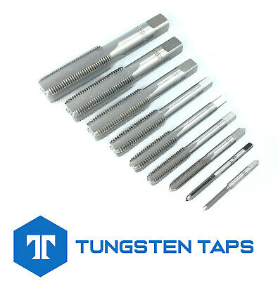 Bottom Plug Bottoming Tap M10 M11 M12 M14 M16 M18 0.75 1.0 1.25 1.5 1.75 2.0
