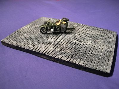 1/35 Scale - Block Roadway diorama base 210mm x 160mm military models