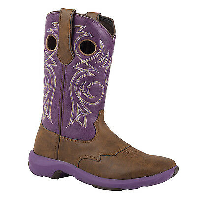 Durango Women's Rebelicious Western Cowgirl Boot purple (RD024)