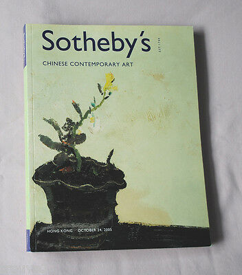 Sotheby's Chinese Contemporary Art Oct. 24 2005 Hong Kong Oil Paintings