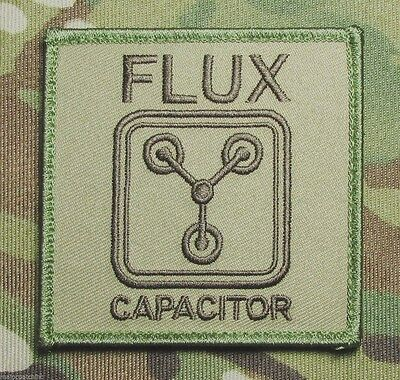 Flux Capacitor Back To Future Usa Military Multicam Velcro® Brand Fastener Patch
