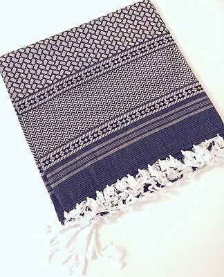 "luxury arab 50"" shemagh scarf men women large palestine arfat head islam fashion"