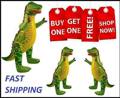 """27"""" Inflatable Dinosaur Animals Inflate Blow Up Novelty Party Toy Special Offer"""