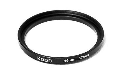 49mm-52mm 49-52 Stepping Ring Filter Ring Adapter Step up