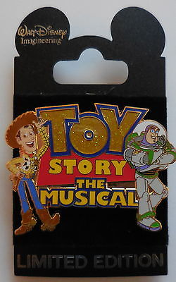 Disney Pin WDI DCL Toy Story The Musical LE300