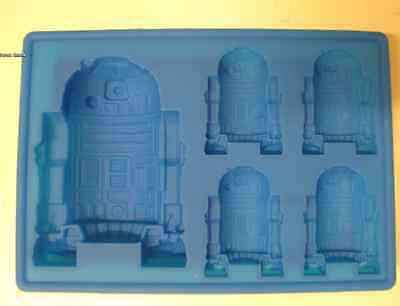 STAR WARS R2-D2 SILICONE BIRTHDAY MINI CAKE PAN CANDY MOLD ICE TRAY