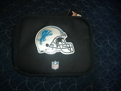 NFL Licensed Detroit Lions Insulated Lunch Bag/ Box