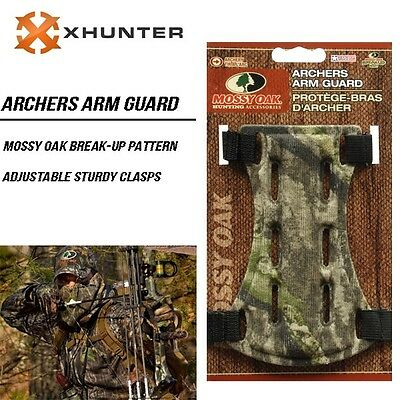 Mossy Oak Camo Archer Armguard Arm Guard Protector Shooting Compound Bow