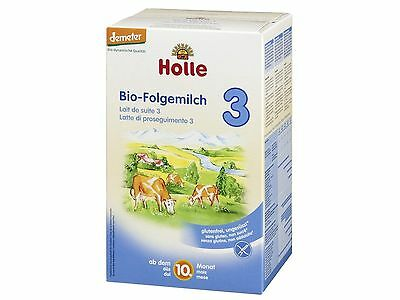 Holle Stage 3 Organic Baby Infant Formula (4 BOXES) FAST SHIPPING