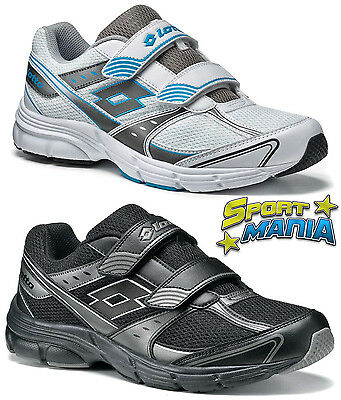 LOTTO ANTARES VI Velcro Scarpe Shoes Uomo Sportive Running