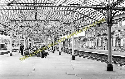 Bridlington Railway Station Photo. Carnaby- Flamborough. Driffield to Filey. (1)
