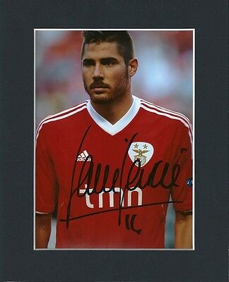 Javi Garcia Footballer Original Hand Signed 10X8 Mounted Autograph Photo & Coa