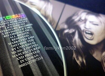Taiwan RARE Promo CD MINT! Madonna Give Me All Your Luvin' (NO RAP) rebel heart