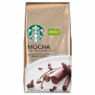 Starbucks Natural Fusions Mocha Ground Coffee