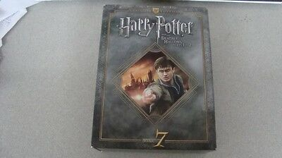 Harry Potter and the Deathly Hallows Parts 1 & 2 Ultimate Edition Year 7 Blu Ray