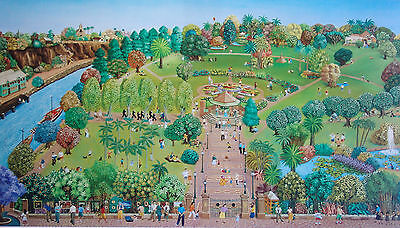 Lynda Sampson-Searle, Sunday City Living, Quality Time in the Park.