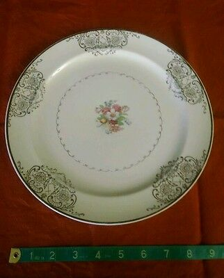 Vintage Paden City Pottery lunch plate 9""