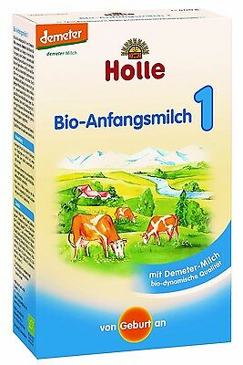 Holle Organic Baby Infant Newborn Formula Stage 1 (10 BOXES) FREE SHIPPING