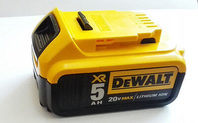 NEW DeWalt DCB205 20V MAX 5.0 Ah XR High Capacity Li Ion Battery Pack for Drill