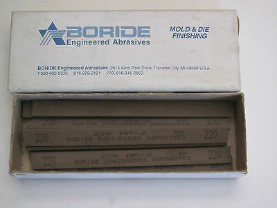 220# Boride Engineered Abrasives Sharpening Grinding Oil Stone Millstone 023640