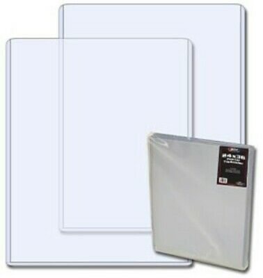 Case / 10 BCW 24 x 36 Poster Topload Holders 24x36 toploads clear plastic sheets