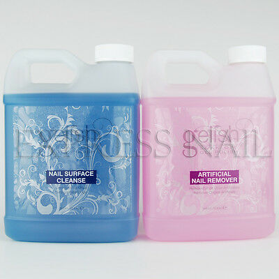 Nail Harmony Gelish Soak Off Gel Polish Remover and Cleanser 32oz / 960mL Choose