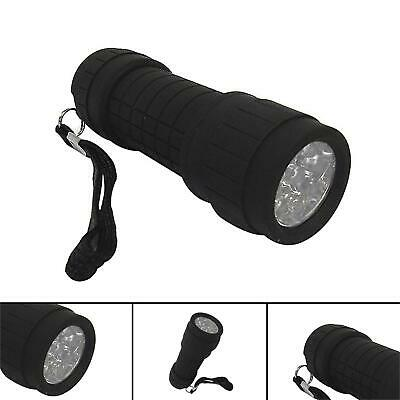 Rolson 3w Bright COB Aluminium Flashlight Mini Small Torch Travel Camping Hiking