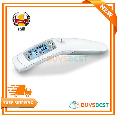 Beurer Non Contact Clinical Thermometer, White - FT90