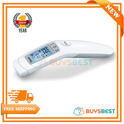 Beurer Non-contact clinical thermometer Forehead LCD Display Date Time FT90