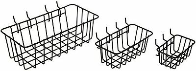 Dorman Hardware 4-9845 Peggable Wire Basket Set, 3-Pack , New, Free Shipping