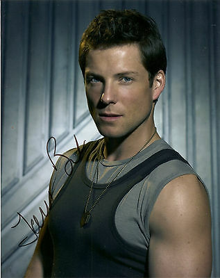 Battlestar Gallactica Jamie Bamber Signed Autographed 8x10 Photo COA