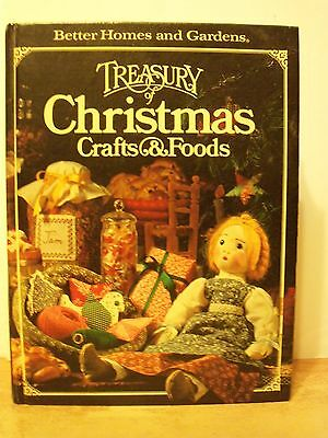 Better Homes & Gardens Treasury of Christmas Crafts & Foods - Huge HB (1980)