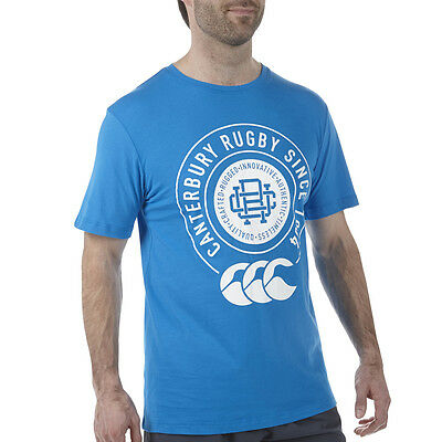 Tee-shirt College Canterbury CCC bleu Neuf Taille L