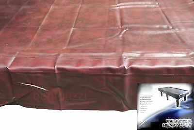 Green Heavy Duty 9ft TABLE COVER Pool Snooker Billiards