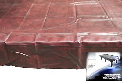 QUALITY Green Heavy Duty 9ft TABLE COVER - Pool Snooker Billiards Balls