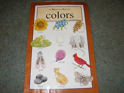 4 Teacher Big Books The Wonders of Learning Shapes, Colors, Opposites & Numbers