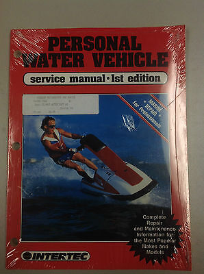 Clymer PWV-1 Service Shop Repair Manual Personal Water Vehicle Svc