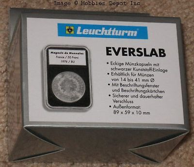 5 Lighthouse EVERSLAB 22mm Graded Coin Slabs 1/4 oz Gold American Eagle Holders