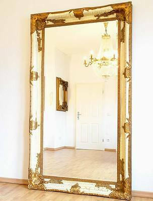Miroirs d coration int rieure maison picclick for Grand miroir blanc baroque